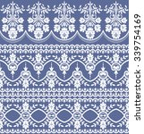 vector set with baroque... | Shutterstock .eps vector #339754169