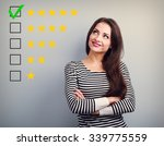 the best rating  evaluation....   Shutterstock . vector #339775559