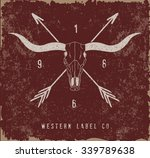 western label design with old... | Shutterstock .eps vector #339789638