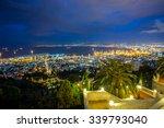 Panorama Of Haifa   Port And...