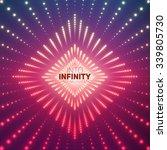 Vector Infinite Rhombic Or...