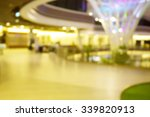 blur shopping mall with bokeh... | Shutterstock . vector #339820913