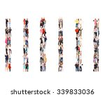 united company people diversity  | Shutterstock . vector #339833036