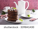 chocolate mint christmas... | Shutterstock . vector #339841430