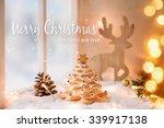 beautiful christmas decoration | Shutterstock . vector #339917138