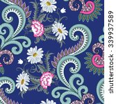 Bright Seamless Pattern With...