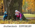 portrait little children as... | Shutterstock . vector #339938189