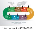 7 sided infographics background ... | Shutterstock .eps vector #339940310