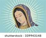 our lady of guadalupe | Shutterstock .eps vector #339943148