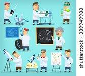 mars program engineers and... | Shutterstock .eps vector #339949988