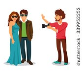 professional photographer takes ... | Shutterstock .eps vector #339952253