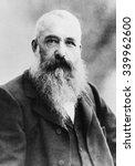 Claude Monet In 1901 In The...