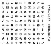 technology icons set.  | Shutterstock .eps vector #339974828