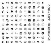 seo 100 black  simple icons set ...   Shutterstock .eps vector #339974870