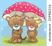 Two Cute Lovers Teddy Bears...