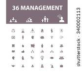 management  partners  human... | Shutterstock .eps vector #340002113