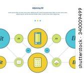 concept design template green ...   Shutterstock .eps vector #340009499