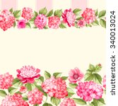 Pink Flower Border With Tile....