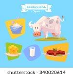 Cute Farm Animal Cow ....