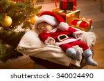 Little Baby Santa Sleeping...