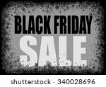 black friday background with... | Shutterstock . vector #340028696