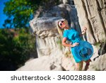 young woman on resort | Shutterstock . vector #340028888