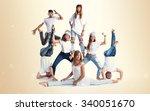 street dance people | Shutterstock . vector #340051670