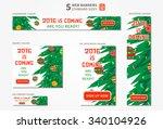 vector standard size web... | Shutterstock .eps vector #340104926
