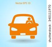 driver vector icon | Shutterstock .eps vector #340111970