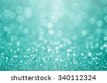 Abstract Green Teal Or...
