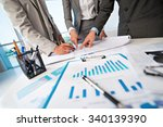 cropped image of business... | Shutterstock . vector #340139390
