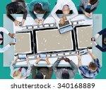 filmstrip roll photograph... | Shutterstock . vector #340168889