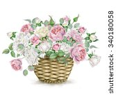 Beautiful Watercolor Basket...