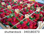Strawberries Boxes Baskets...