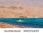dahab  sinai peninsula  egypt ... | Shutterstock . vector #340191653