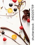Abstract Artistic Chocolate...