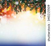 christmas card | Shutterstock . vector #340215509