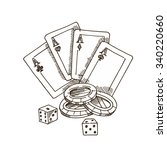 Playing Cards  Chips  Dice. Th...