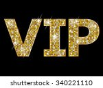 very important person   vip... | Shutterstock . vector #340221110
