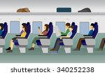 passenger train vector | Shutterstock .eps vector #340252238