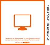 computer icon   Shutterstock .eps vector #340254863