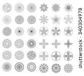 flowers design element for... | Shutterstock .eps vector #340304978