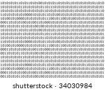 Binary Computer Data Backgroun...