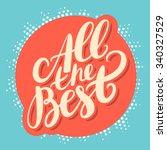 all the best.  | Shutterstock .eps vector #340327529