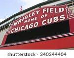 chicago   circa september 2008  ... | Shutterstock . vector #340344404