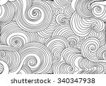 beautiful abstract vector... | Shutterstock .eps vector #340347938