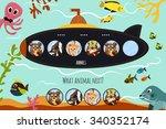 cartoon vector illustration of... | Shutterstock .eps vector #340352174