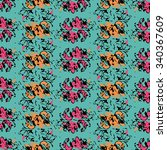 seamless abstract pattern with... | Shutterstock .eps vector #340367609