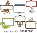 Frames With Cartoon Animals....