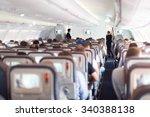 interior of large passengers...   Shutterstock . vector #340388138
